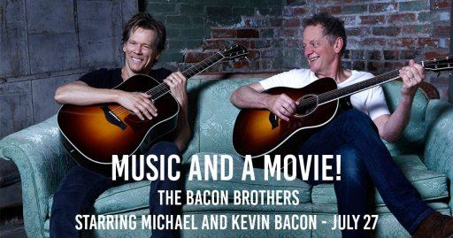 Image of Kevin and Michael Bacon