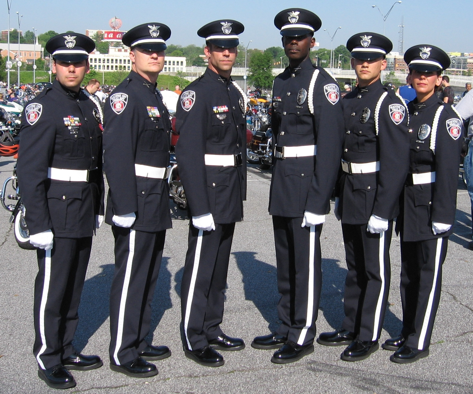 Honor Guard Group in Uniform