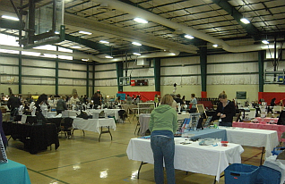 The Kedron Fieldhouse is perfect for a local indoor show!