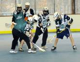 Lacrosse Action at the Kedron Multipurpose Rink in Peachtree City, GA