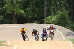 BMX Action in Peachtree City, GA