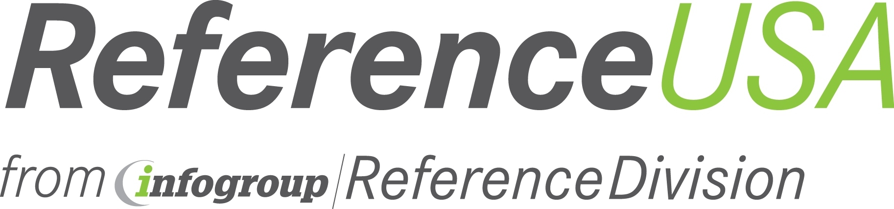 ReferenceUSA Logo Opens in new window