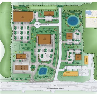 Line Creek Retail site plan